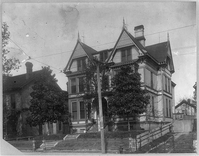 Negro homes - home of R.R. Church, Memphis, Tenn. (exterior)