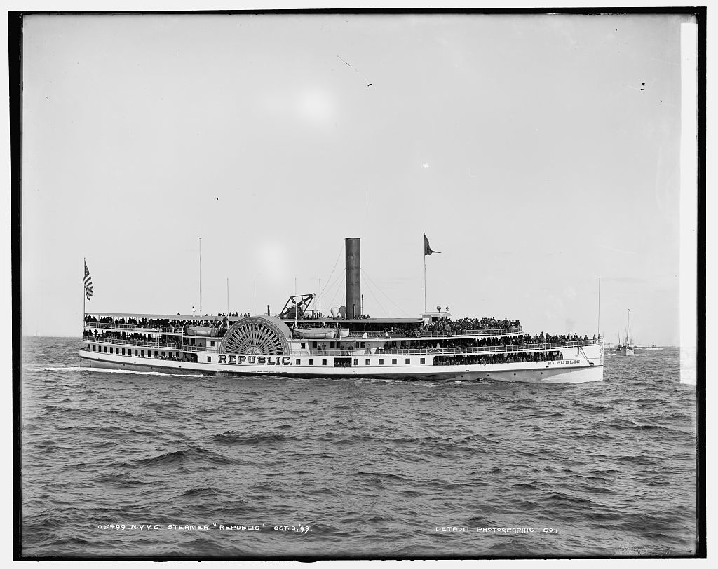 N.Y.Y.C. steamer Republic
