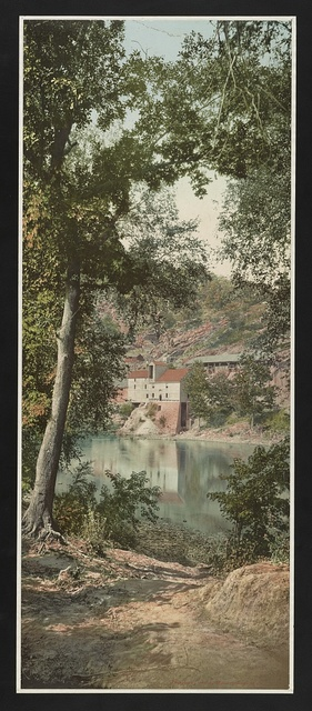 Old mill on the Potomac River, Maryland
