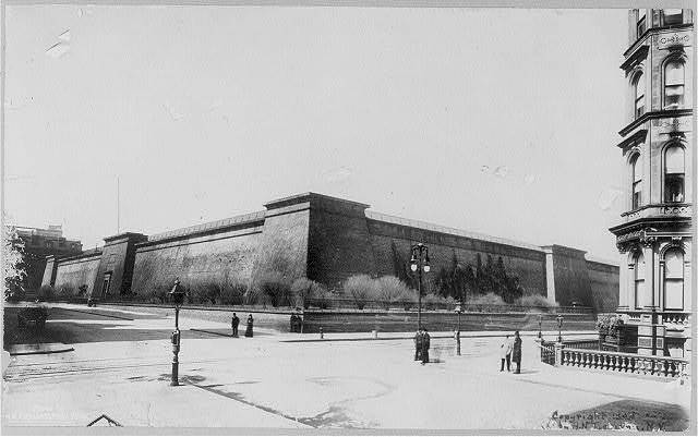 [Old reservoir, Fifth Ave., 40 - 42d Streets, New York City]