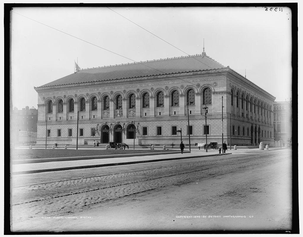 Public Library, Boston
