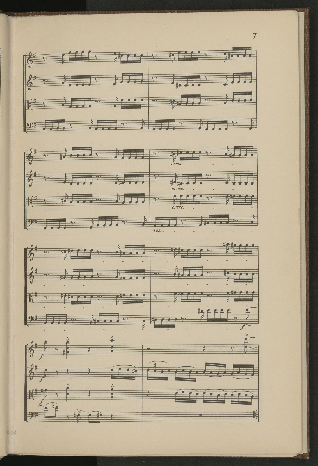 Quatuor por 2 violons, alto et violoncelle par C. Saint-Saëns, op. 112