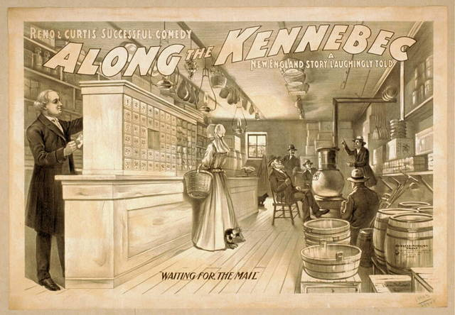 Reno & Curtis successful comedy, Along the Kennebec a New England story, laughingly told.