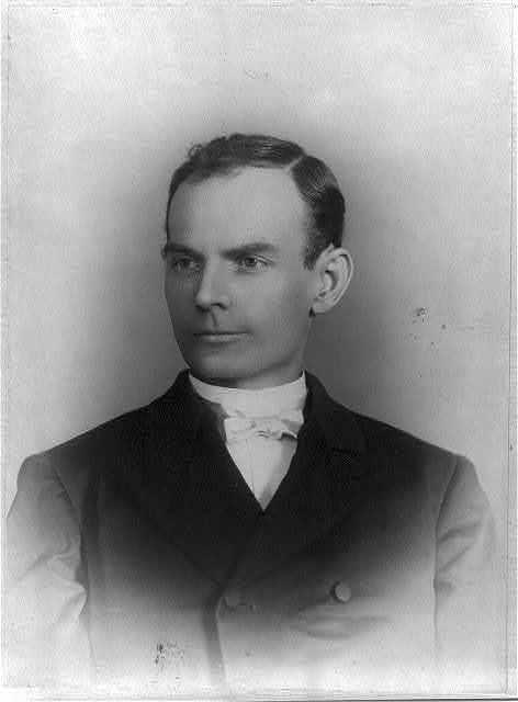 [Robert Ewing Younger, head and shoulders, facing left]