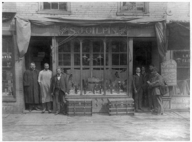 [S.J. Gilpin shoe store, Richmond, Virginia]