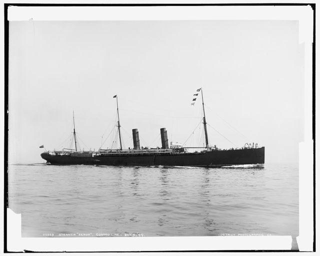 Steamer Servia, Cunard Line