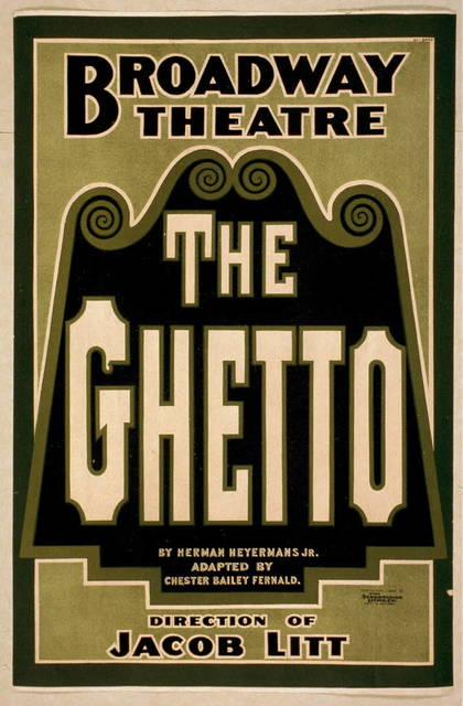 The ghetto by Herman Heyermans [i.e., Heijermans], Jr. ; adapted by Chester Bailey Fernald.