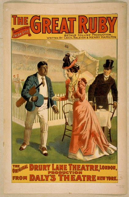 The great ruby Arthur Collins' production ; written by Cecil Raleigh & Henry Hamilton.