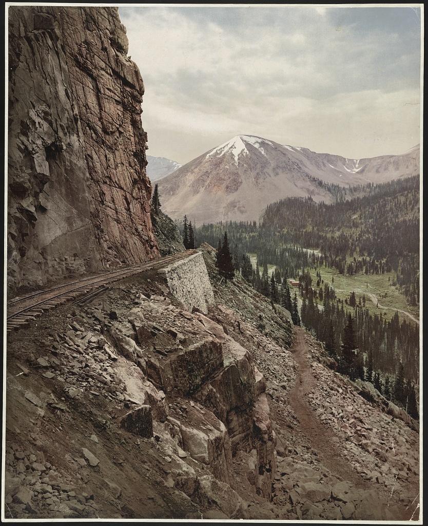 The palisades, Alpine Pass, Colorado
