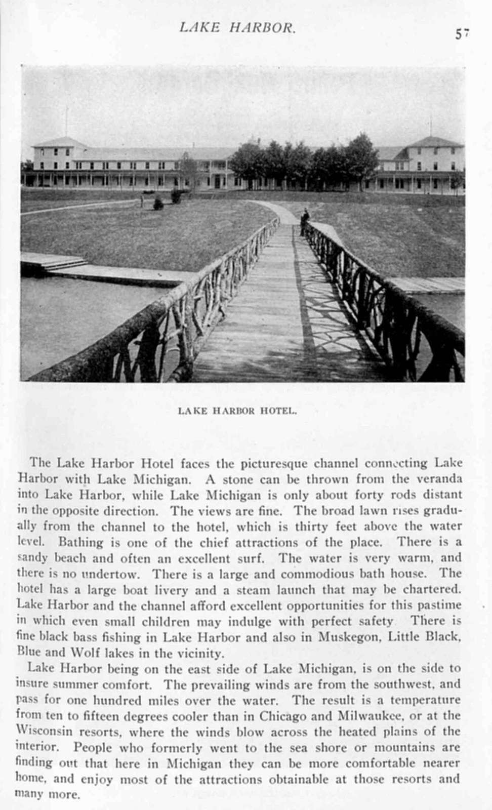 The standard guide; Mackinac Island and northern lake resorts. With illustrations