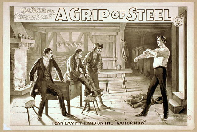 The successful, romantic drama, A grip of steel
