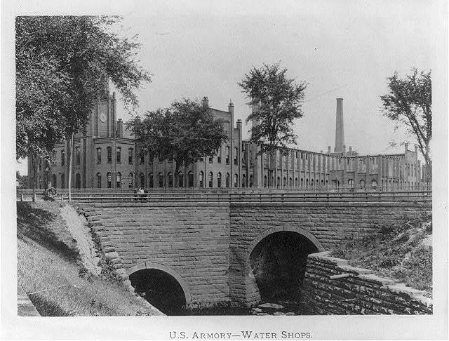 U.S. Armory - water shops, [Springfield, Mass.]