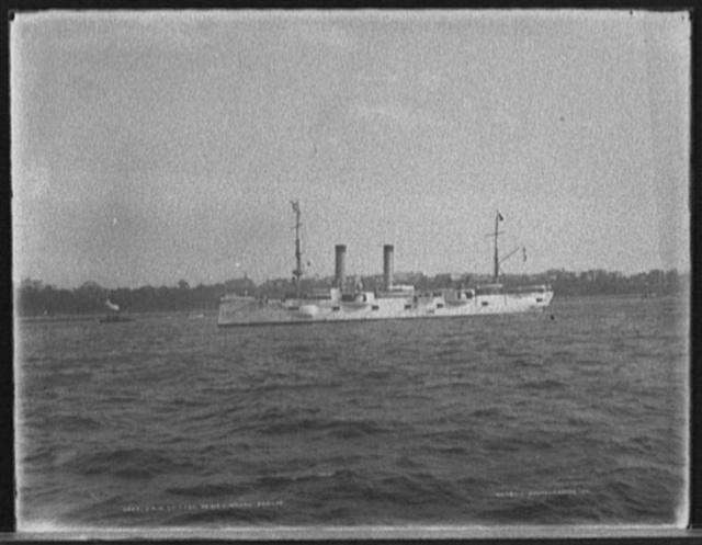 U.S.S. Chicago, Dewey Naval Parade