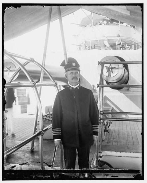 U.S.S. Indiana, Capt. Taylor, 1899