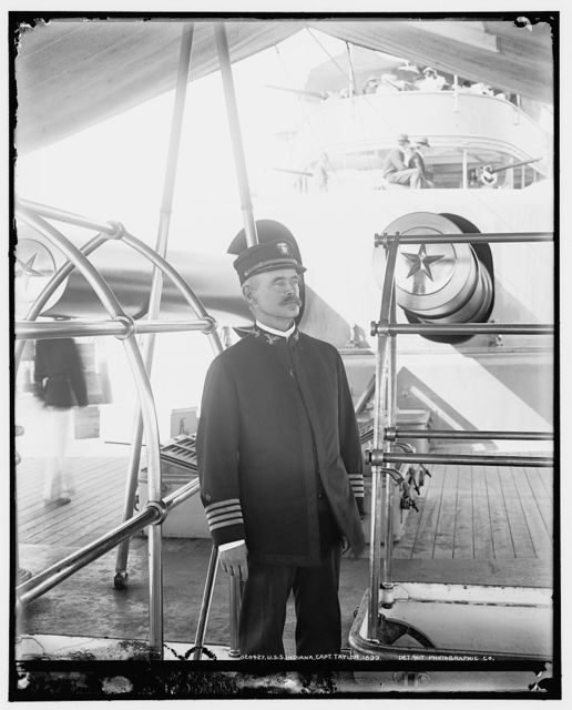 U.S.S. Indiana, Capt. Taylor