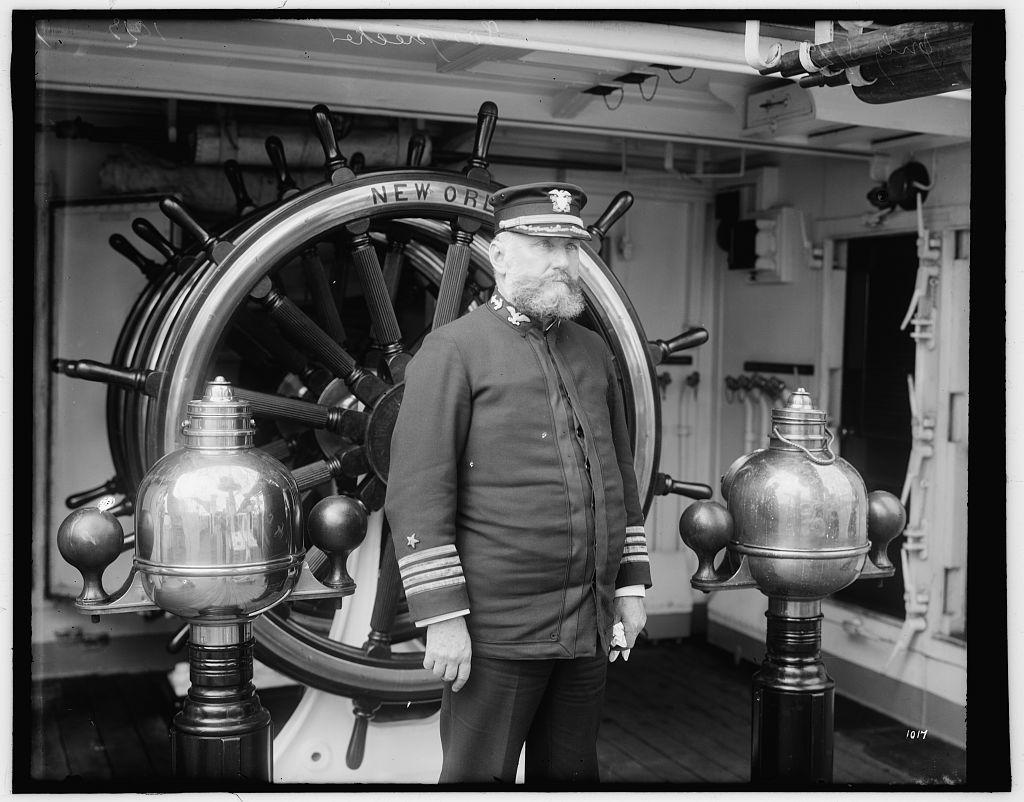 U.S.S. New Orleans, Capt. Edwin Longnecker