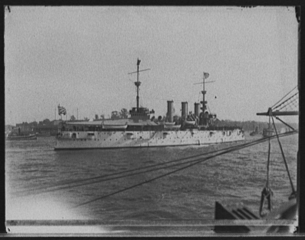 U.S.S. New York, Dewey Naval Parade