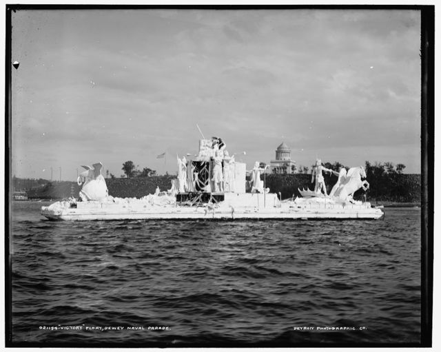 Victory float, Dewey Naval Parade