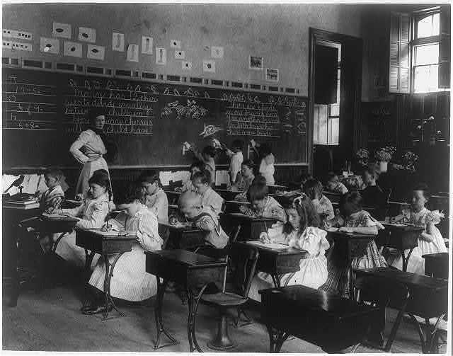[Washington, D.C., Fifth division grade school]