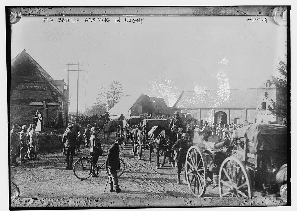 5th British Arriving in Cugny