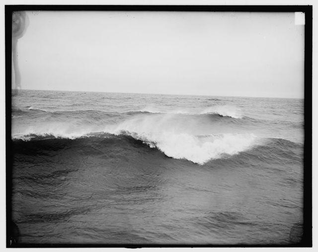 [A Bit of Atlantic surf]