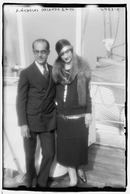 A. Nicholas Orlando & wife