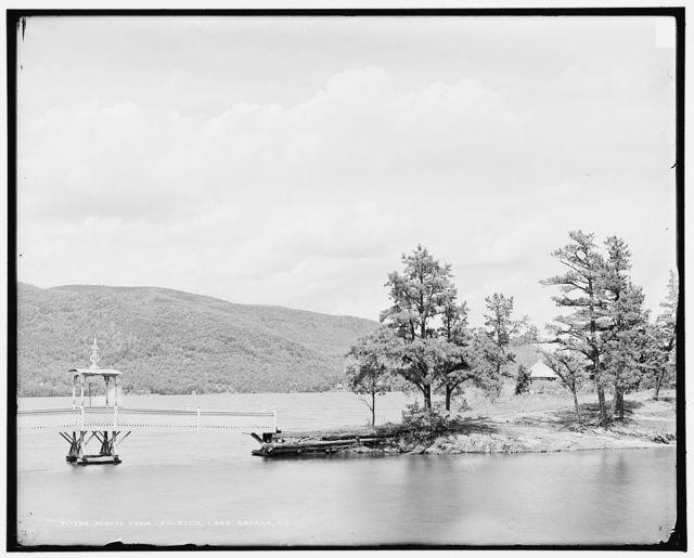 Across from Hulett's, Lake George, N.Y.
