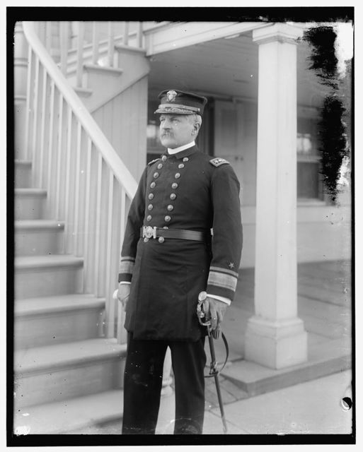 [Admiral Barker, Commandant of Brooklyn Navy Yard]