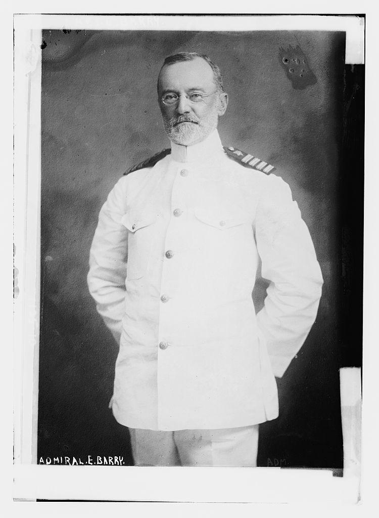 Admiral E. Barry
