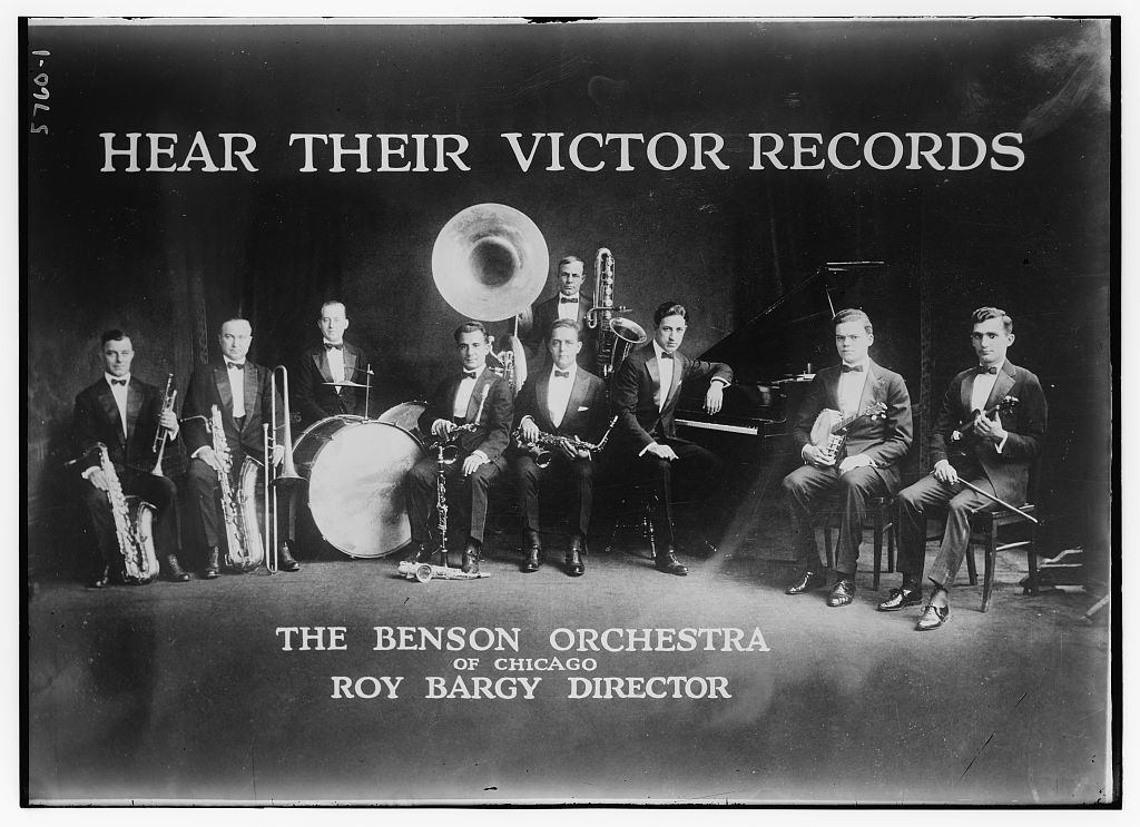Advertisement: Victor Records: the Benson Orch. of Chicago