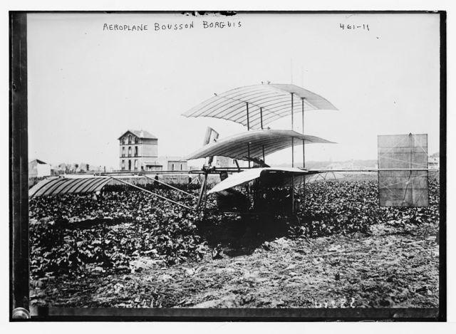 Aeroplane Bousson Borguis [driven by Paul Borguis]