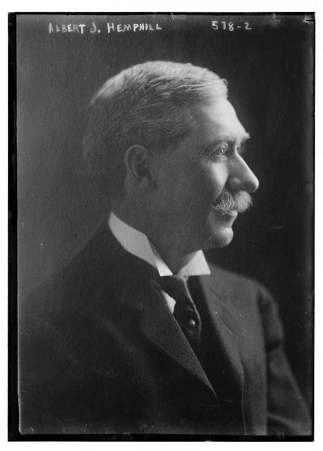 Albert J. Hemphill, profile protrait