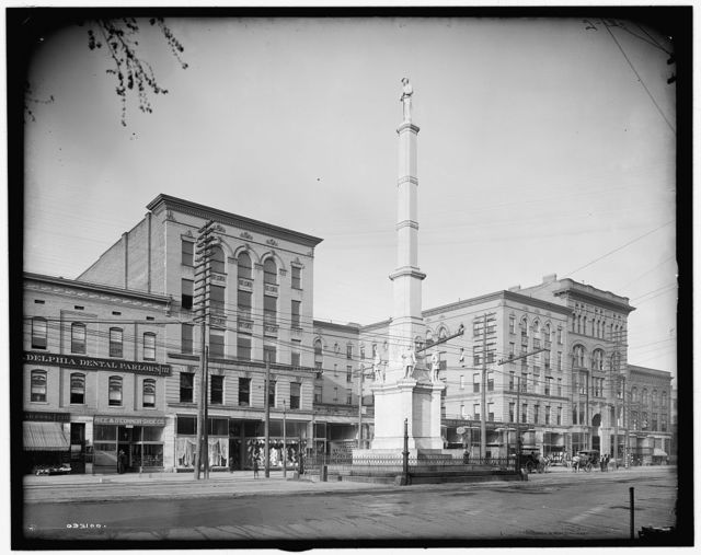 [Albion Hotel and Confederate Monument, Augusta, Ga.]