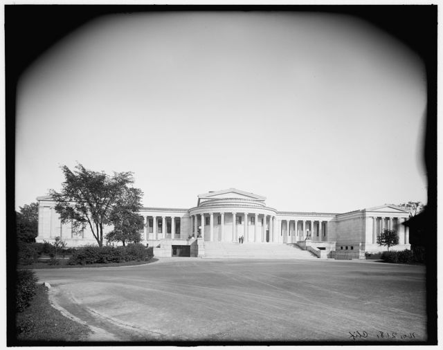 [Albright Art Museum (Gallery), Delaware Park, Buffalo, N.Y.]