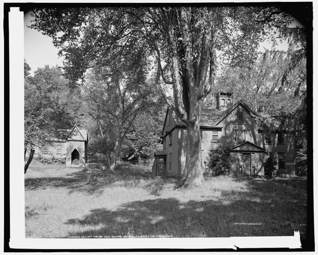 Alcott house [Orchard House] and School of Philosophy, Concord, Mass.