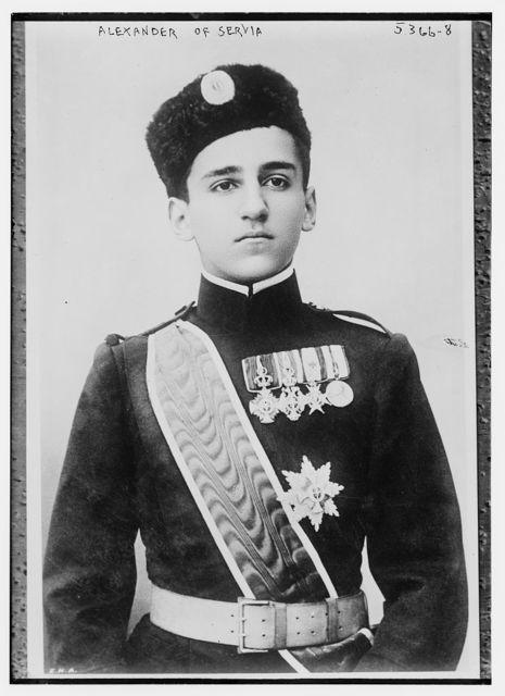Alex. of Serbia