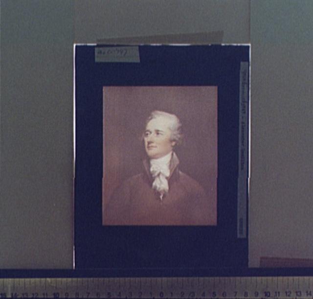 [Alexander Hamilton, head-and-shoulders portrait]