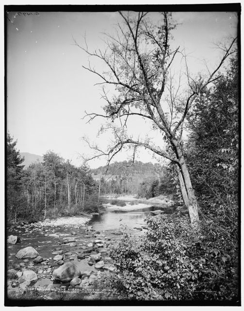 Along the Ausable, Keene Valley, Adirondack Mountains