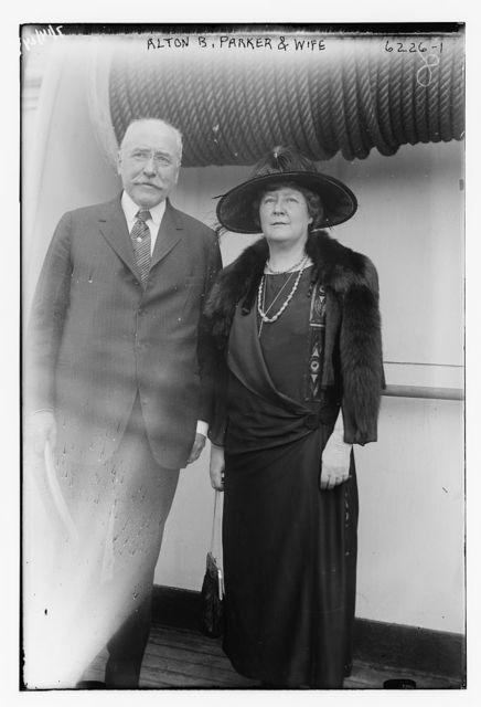 Alton B. Parker & wife