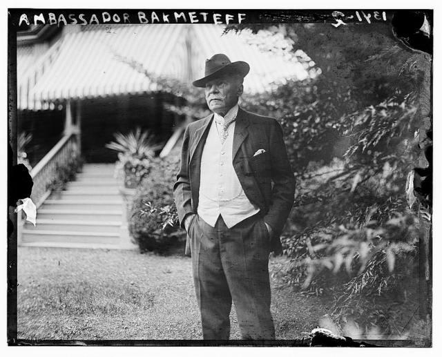 Ambassador Bakhmeteff