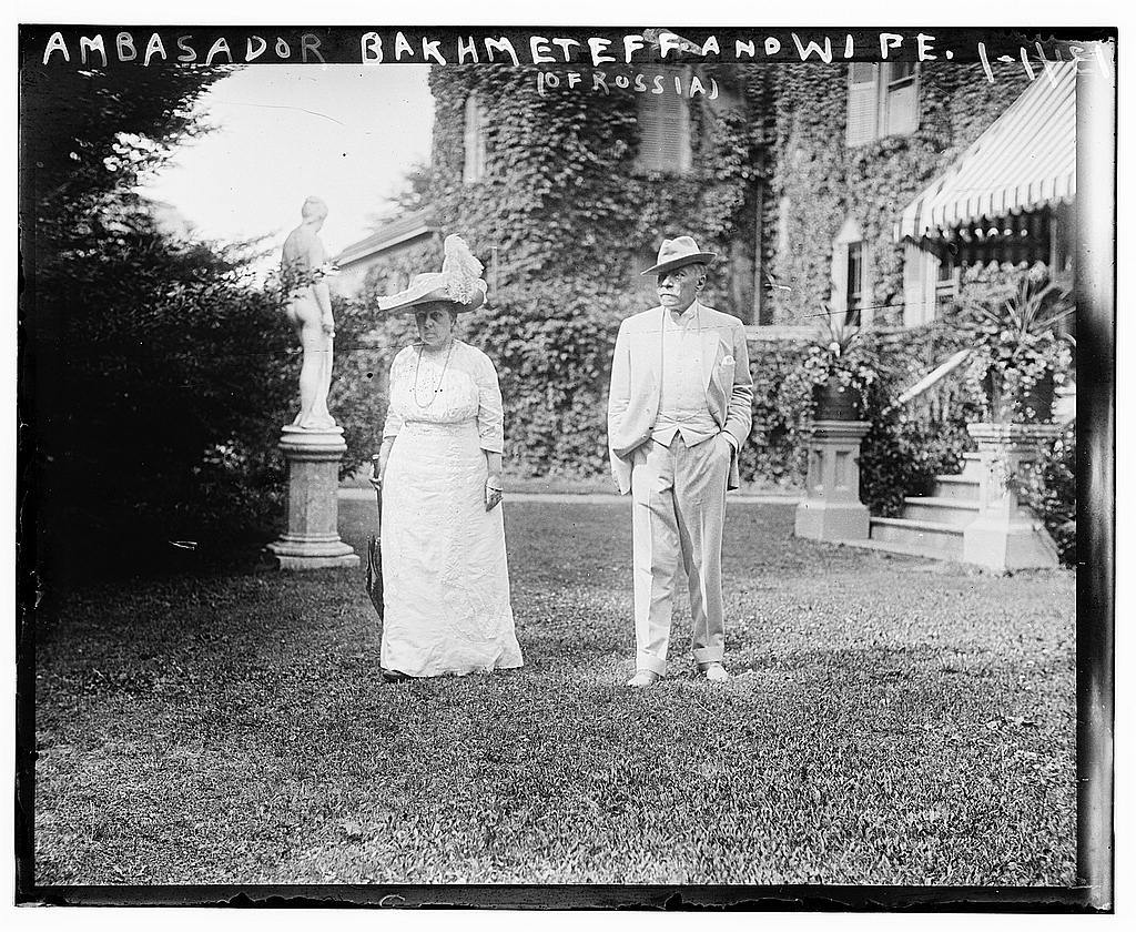 Ambassador Bakhmeteff and wife