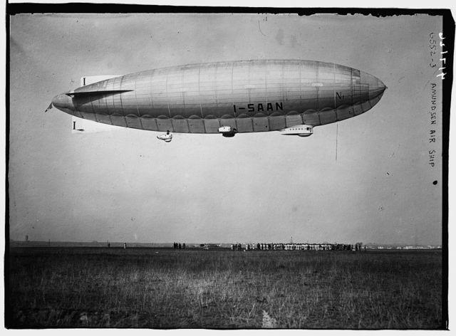 Amundsen (blimp) Air Ship I - SAAN