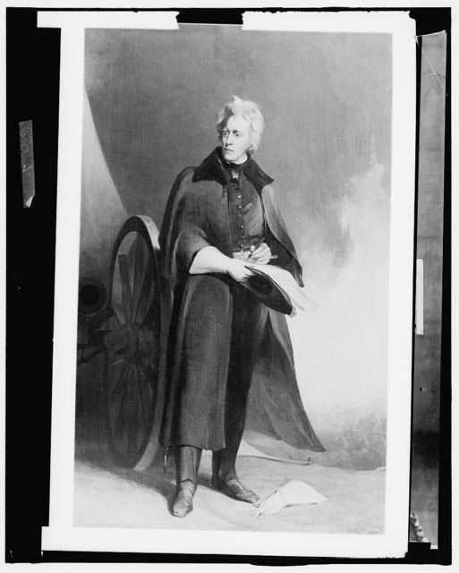 [Andrew Jackson, full-length portrait]