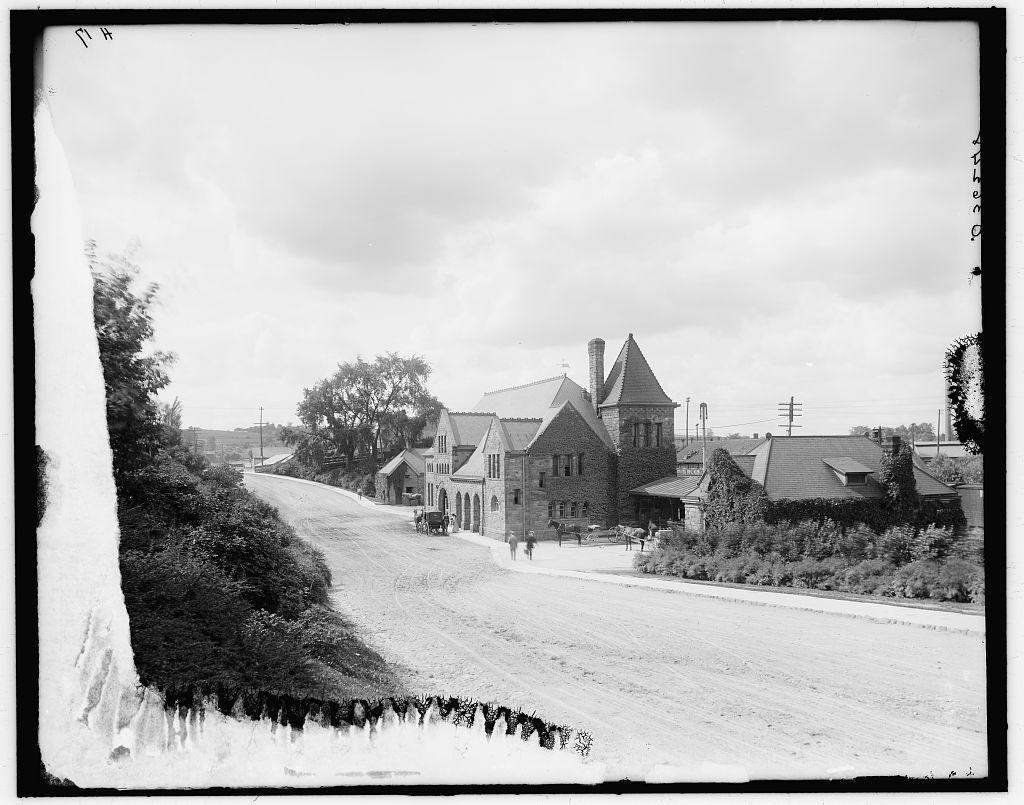[Ann Arbor, Mich., M.C.R.R. depot]