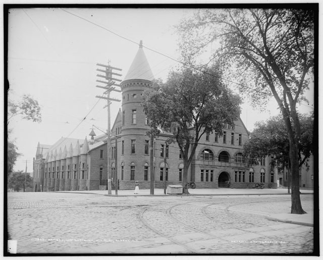 Armory, 10th Battalion, N.Y.N.G. [i.e. New York National Guard], Albany, N.Y.