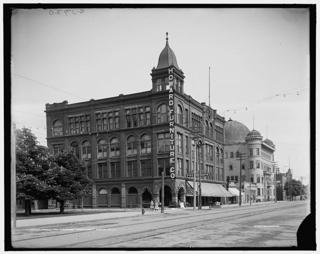 Armory and Maccabee Temple, Port Huron, Mich.