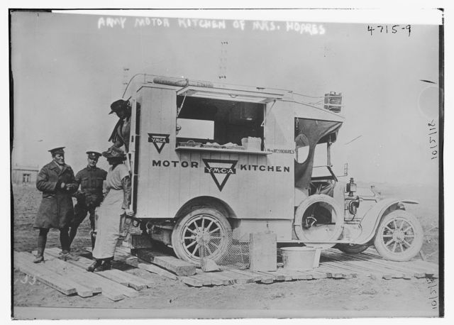 Army Motor Kitchen of Mrs. Hoares [YMCA]