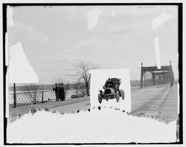[Automobile on bridge]