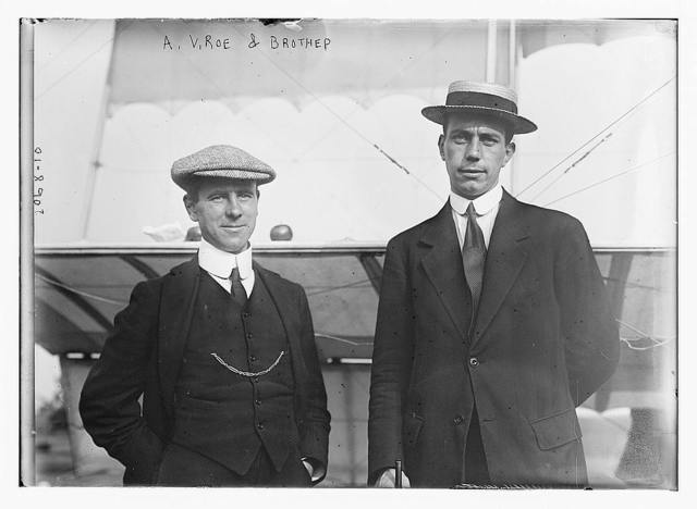 A.V. Roe and brother