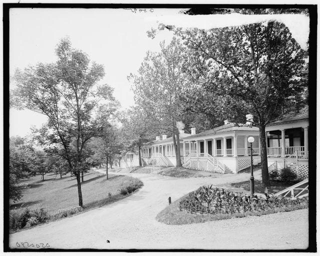 [Baltimore row, White Sulphur Springs, West Va.]